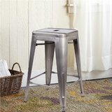 Purvis Backless Metal 24 Bar Stool by Williston Forge