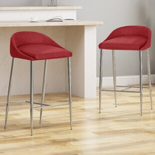 Wilsonville 26 Bar Stool (Set of 2) Orren Ellis