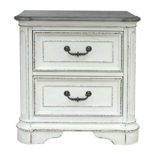 Ilsa 2 Drawers Nightstand