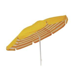Zeta 1.9m Beach Parasol By Sol 72 Outdoor