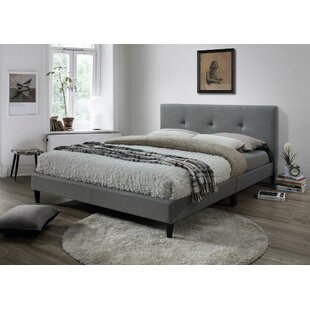Great choice McArthur Upholstered Platform Bed by Ebern Designs Reviews (2019) & Buyer's Guide