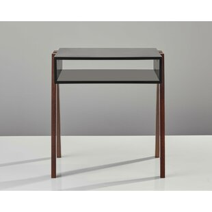 Holifield End Table with Storage by Corrigan Studio