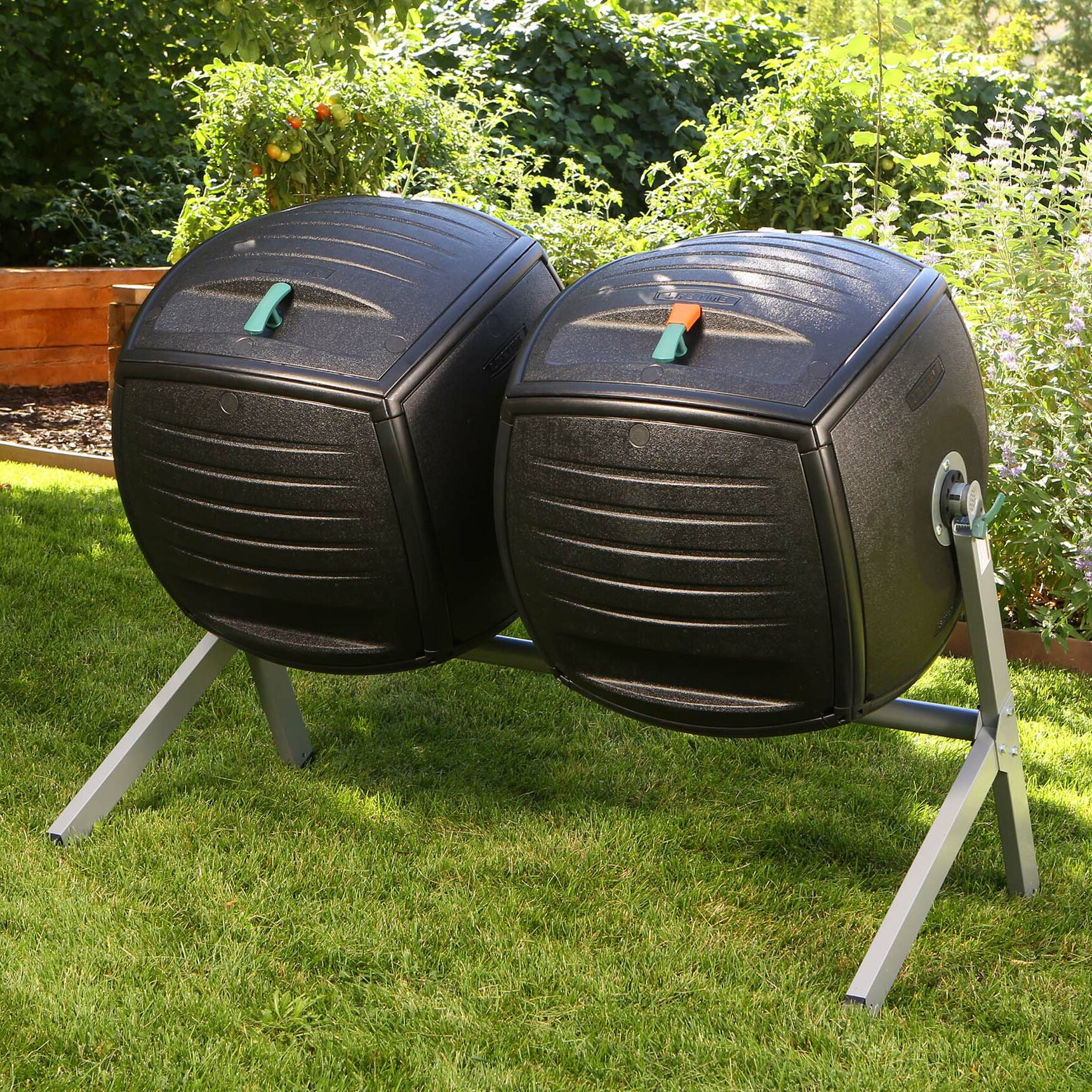Double Bin 189 3L Compost Tumbler