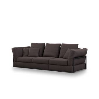One Allium Way Bodil 70 Recessed Arm Sofa Wayfair