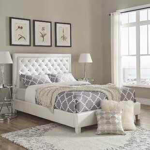 Rosdorf Park Caledonia Upholstered Panel Bed