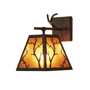 Great Price Branch 1-Light Outdoor Sconce By 2nd Ave Design