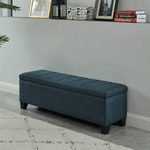 Lizzie Upholstered Storage Bench