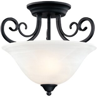 Tuscany 2-Light Semi Flush Mount by Hardware House