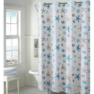 Seashell Single Shower Curtain