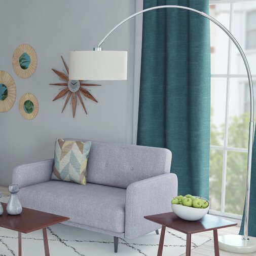 Maui 81in. Arched Floor Lamp