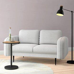 Natalie 2 Seater Loveseat Sofa By Hykkon