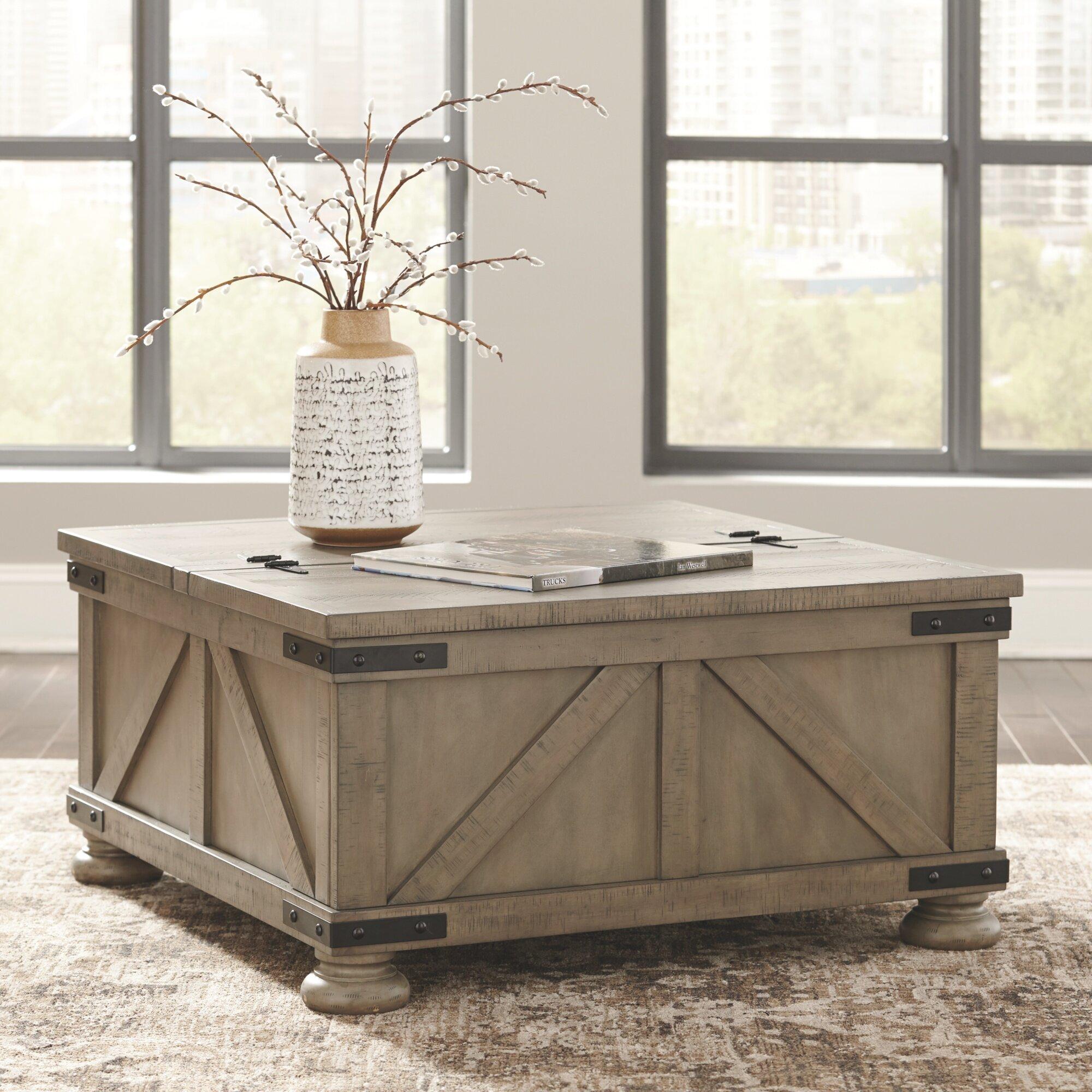 Laurel Foundry Modern Farmhouse Emiliano Lift Top Coffee Table With Storage Reviews Wayfair [ 2000 x 2000 Pixel ]