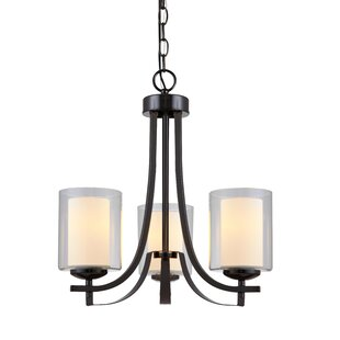 Zipcode Design Nettie 3-Light Shaded Chandelier