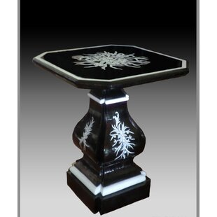Immanuel Mother of Pearl End Table by Astoria Grand