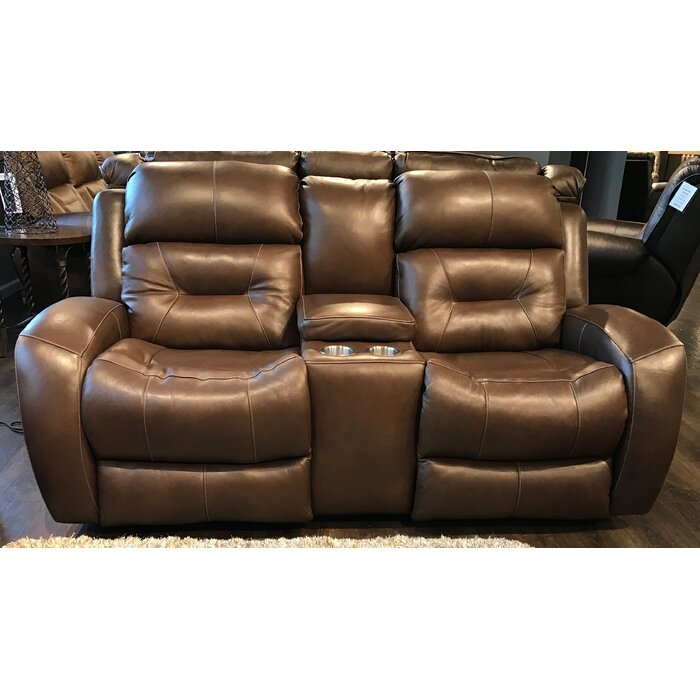 Stupendous Showcase Leather Reclining Loveseat Alphanode Cool Chair Designs And Ideas Alphanodeonline