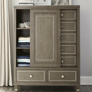 Everly Quinn Stallings 7 Drawer Gentlman Chest