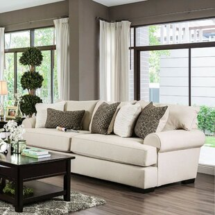 Kristina Transitional Style Sofa