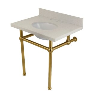 Great choice Templeton White Quartz Rectangular Undermount Bathroom Sink with Overflow By Kingston Brass