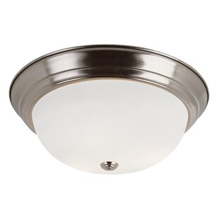 Buy clear Sandia 3-Light Flush Mount By Andover Mills