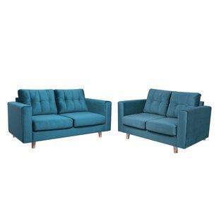Jennie 2 Piece Sofa Set By Corrigan Studio