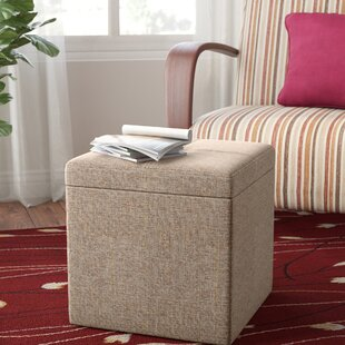 Stivers Storage Ottoman by Andover Mills