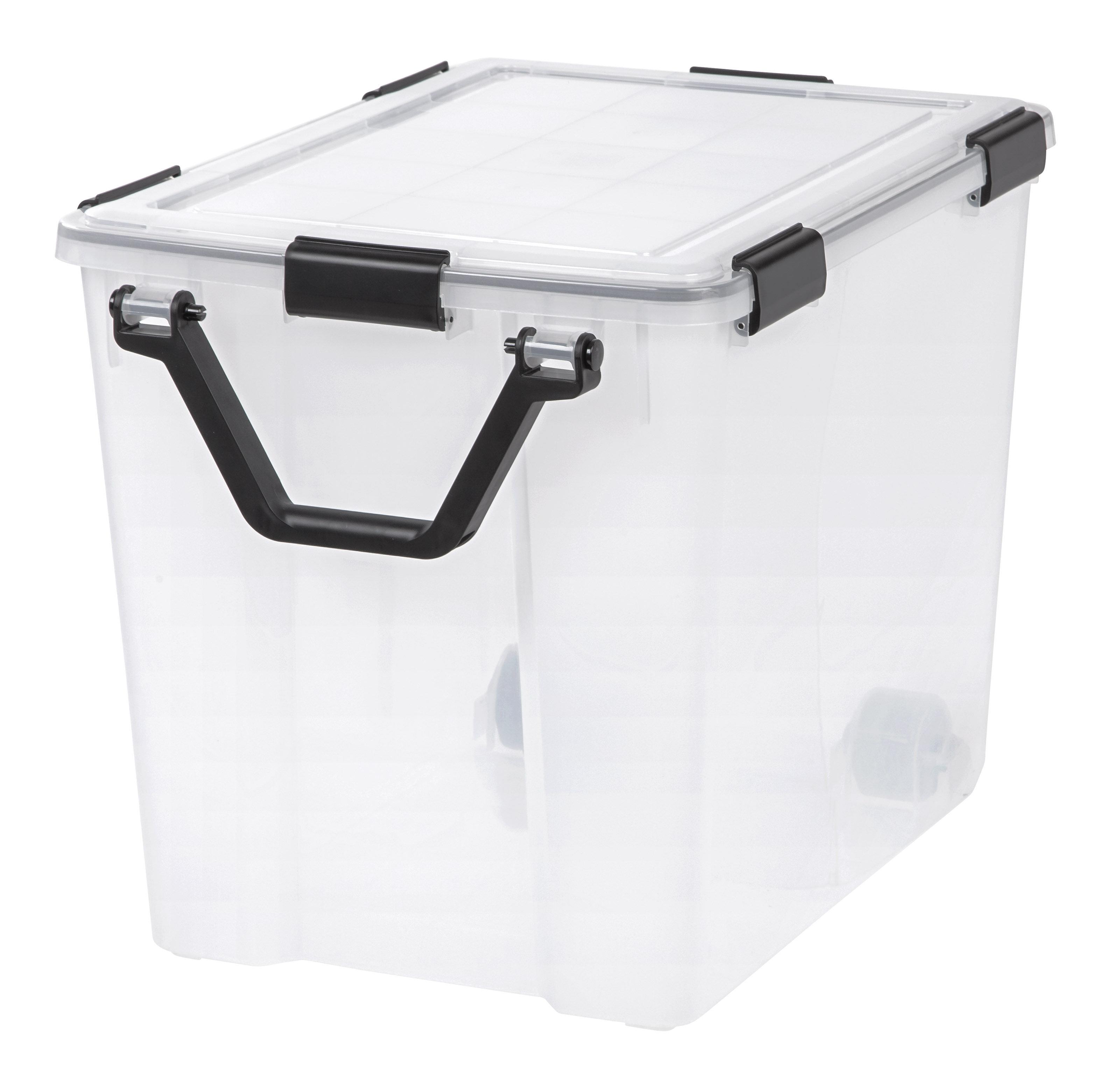 Weathertight 103 Qt Plastic Storage Tote