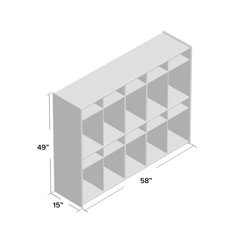 Wood Designs Contender 4 Tier 5 Wide Home Locker Wayfair