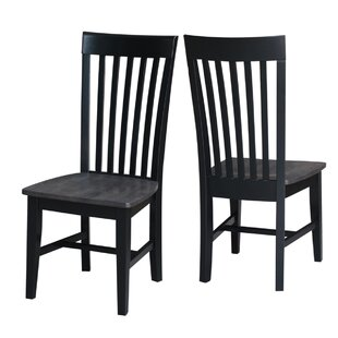 Best Choices Bezons Solid Wood Dining Chair (Set of 2) by Loon Peak Reviews (2019) & Buyer's Guide