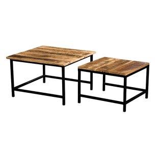 Jocelyn 2 Piece Nesting Tables by Williston Forge