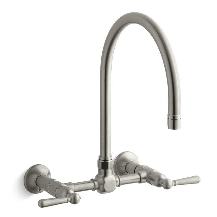 Hirise Double Handle Kitchen Faucet
