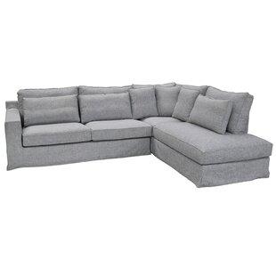Hillcroft Reversible Corner Sofa By Breakwater Bay