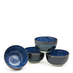 12 Oz. Aranami Bowl (Set Of 4). By Miya Company