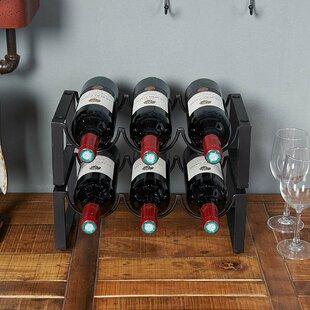 Order Williston Forge Judah Tennis Female 1 Bottle Tabletop Wine Bottle Rack Guaranteed