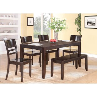 Lockmoor 6 Piece Extendable Dining Set