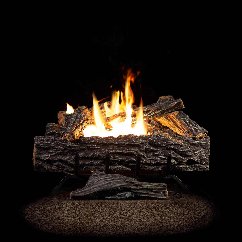 Sureheat Four Seasons Vent Free Natural Gas Propane Logs Reviews Wayfair
