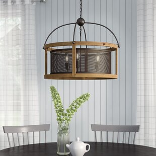 Gracie Oaks Millstone 3-Light Lantern Pendant