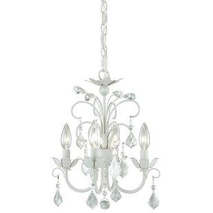 Lark Manor Lavender 4-Light Candle Style ..