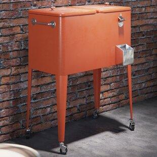 Brayden Studio 60 Qt. Crispin Rolling Cooler
