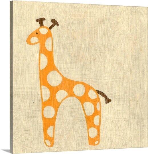 Great Big Canvas Best Friends Giraffe By Chariklia Zarris Canvas Art Wayfair