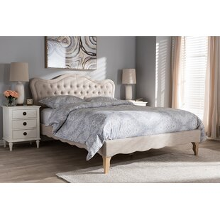 Online Reviews Sofley Upholstered Platform Bed by House of Hampton Reviews (2019) & Buyer's Guide