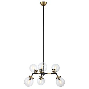 Corrigan Studio Roman 6-Light Shaded Chandelier