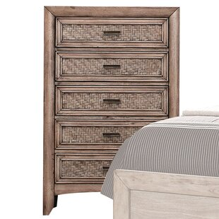 Bayou Breeze LaTayna 5 Drawer Chest
