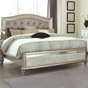 Annunziata Upholstered Panel Bed by Wi..