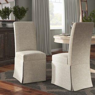 Motsinger Upholstered Dining Chair (Set of 2) by Lark Manor