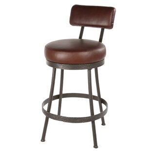 Royall 25 Swivel Bar Stool by Loon Peak Herry Up