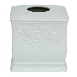 Best Reviews Ellie Cube Tissue Box Cover ByJessica Simpson Home