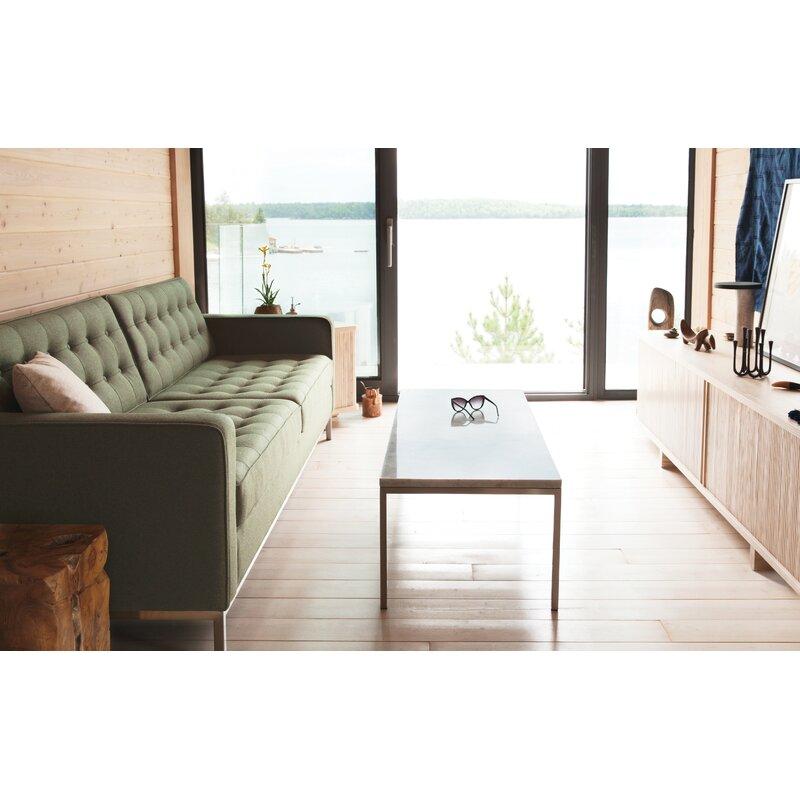 Eq3 Reverie 86 Square Arm Sofa