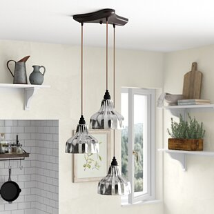 Orofino 3-Light Pendant by Laurel Foundry Modern Farmhouse