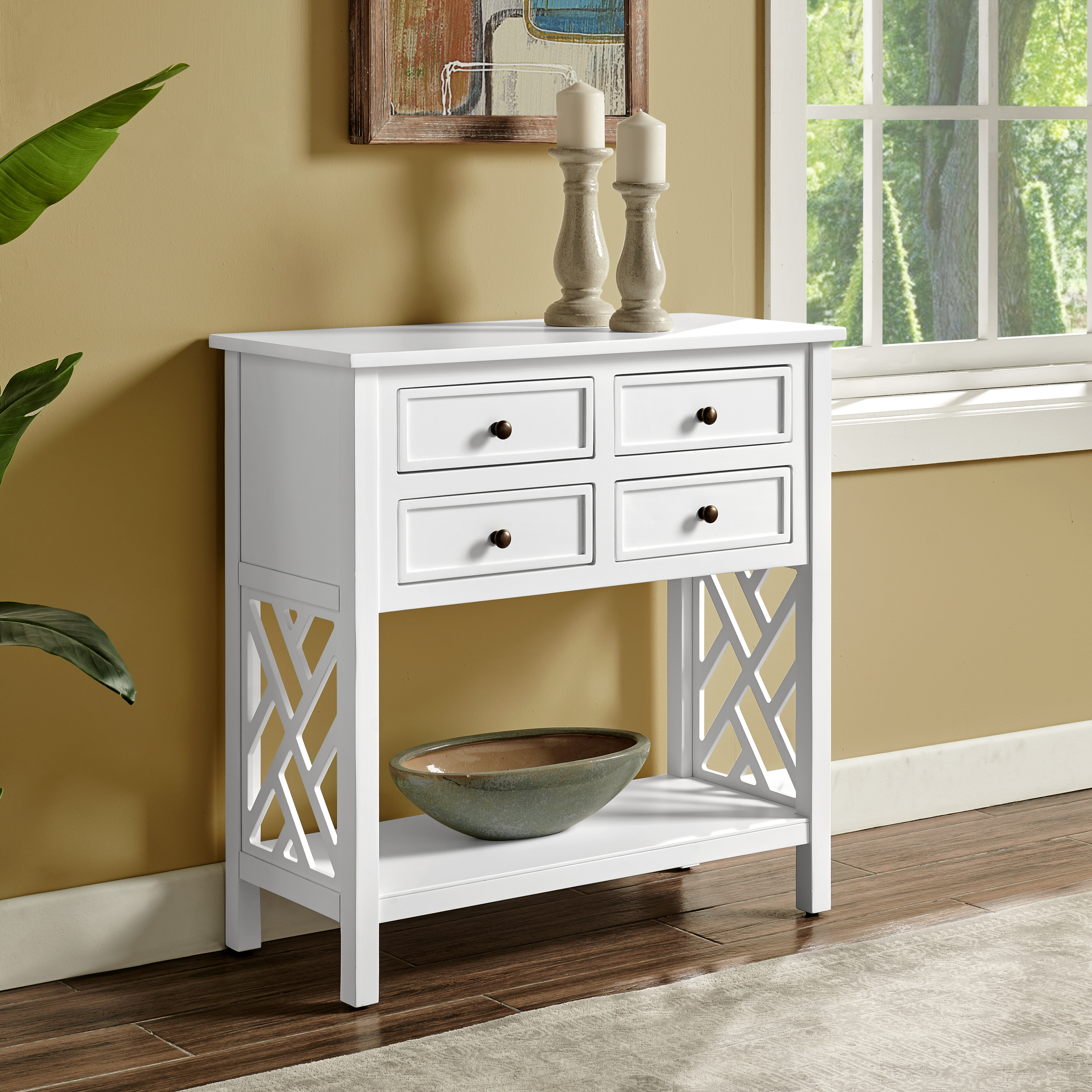 """Rosalind Wheeler Lund 32"""" Console Table & Reviews"""