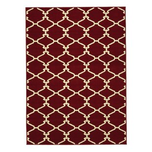 Check Prices Clifton Red Area Rug By sweet home stores